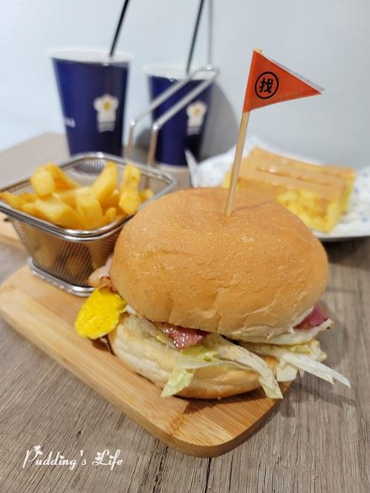 找餐店Brunch漢堡