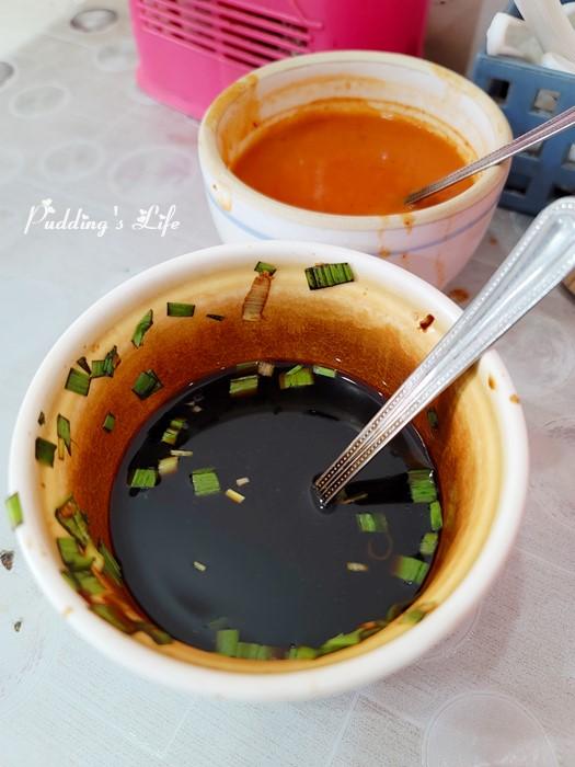 翁記水晶餃醬料