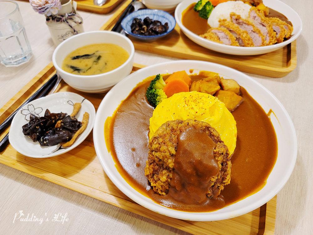 新竹美食│私嚐の吃飯》東門市場旁螺旋滑蛋咖哩/歡迎毛小孩.寵物友善餐廳