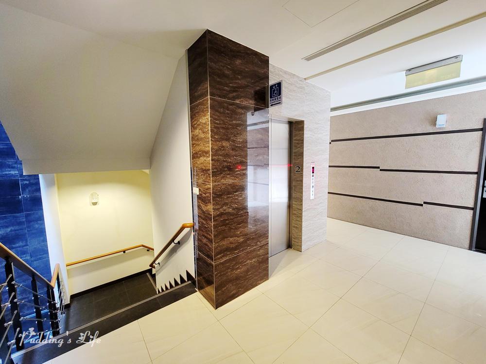 綠動湯泉原宿電梯