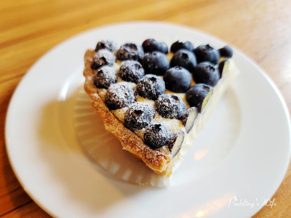 食聚咖啡藍莓派