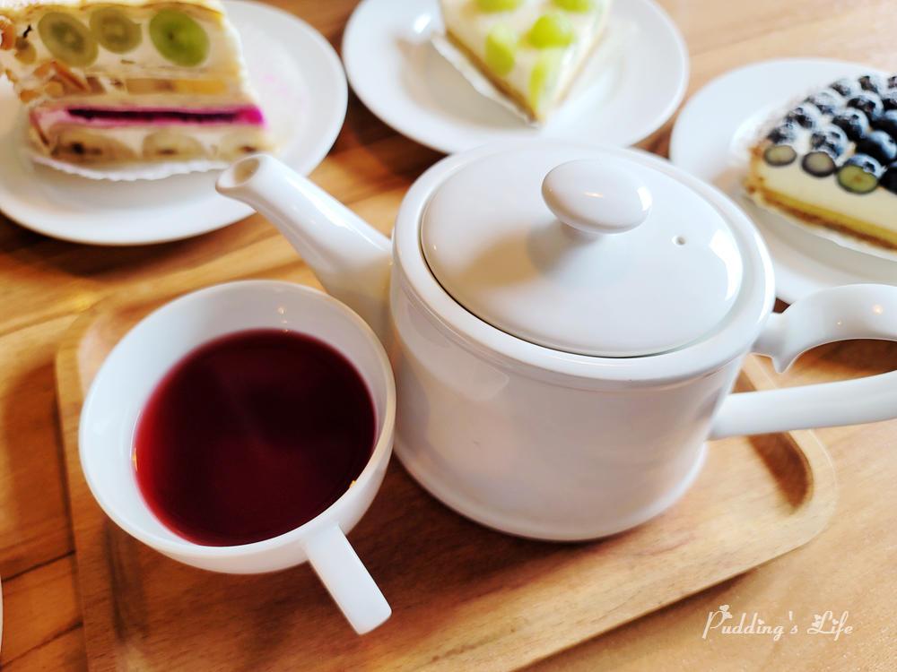 食聚咖啡果粒茶