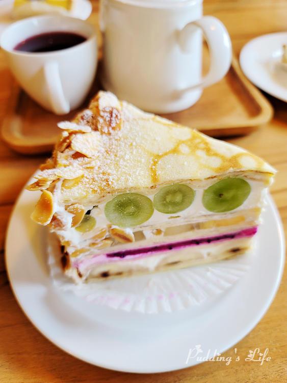 食聚咖啡千層蛋糕
