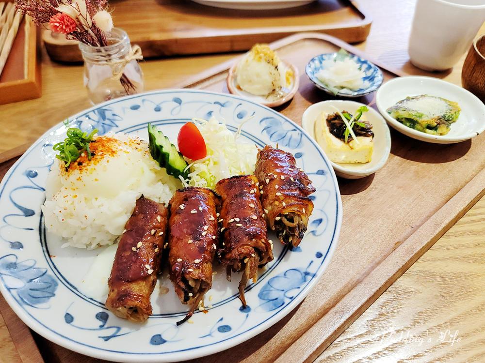 築路LULU手作定食-牛蒡絲豚肉捲