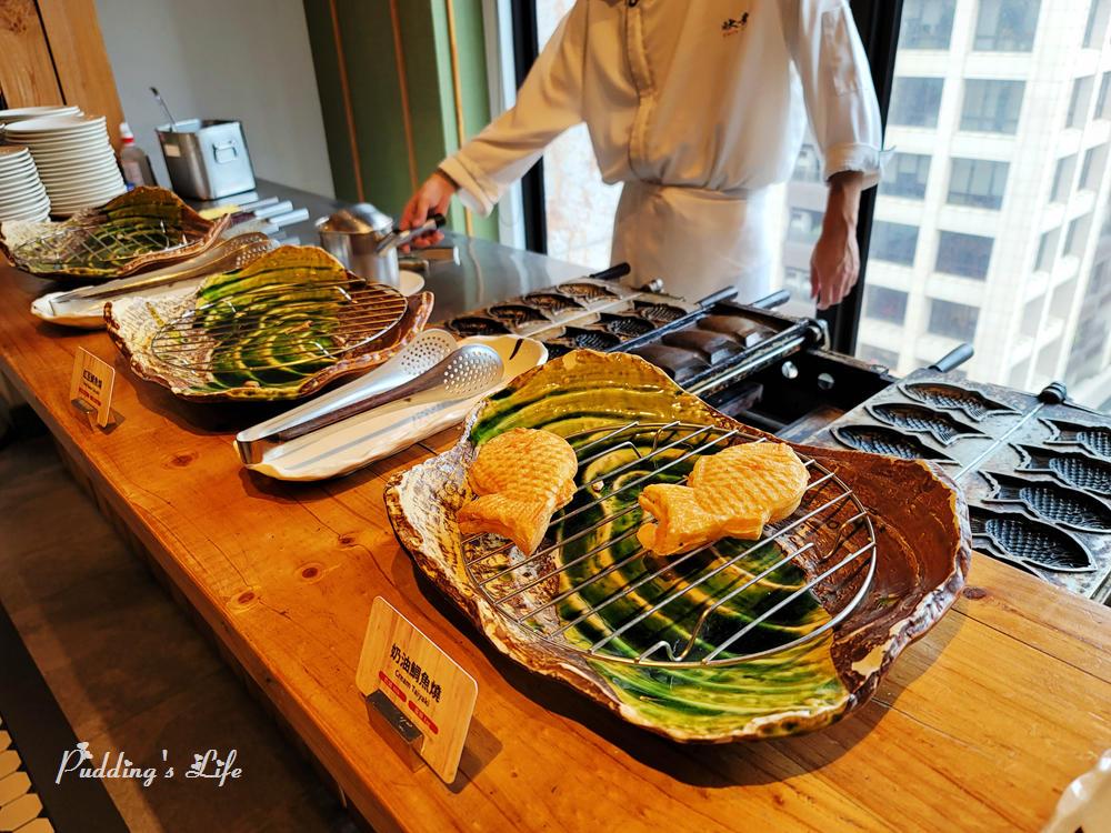欣葉日本料理-現烤鯛魚燒