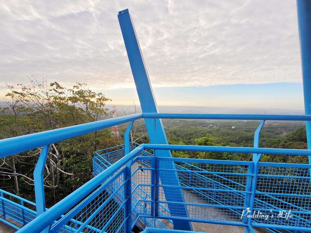 銅鑼天空步道觀景台