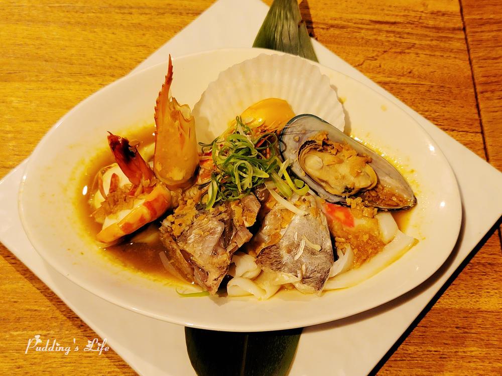 八庵壽司割烹-海鮮蒜蒸