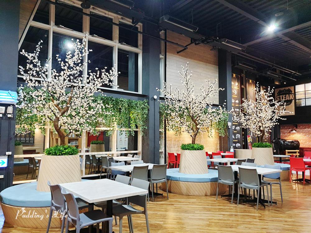 裕賀牛觀光工廠-用餐區