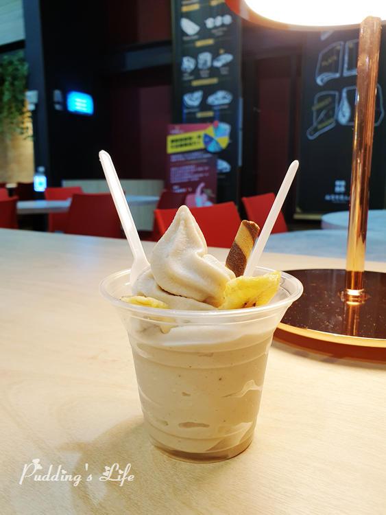裕賀牛觀光工廠-香蕉冰淇淋
