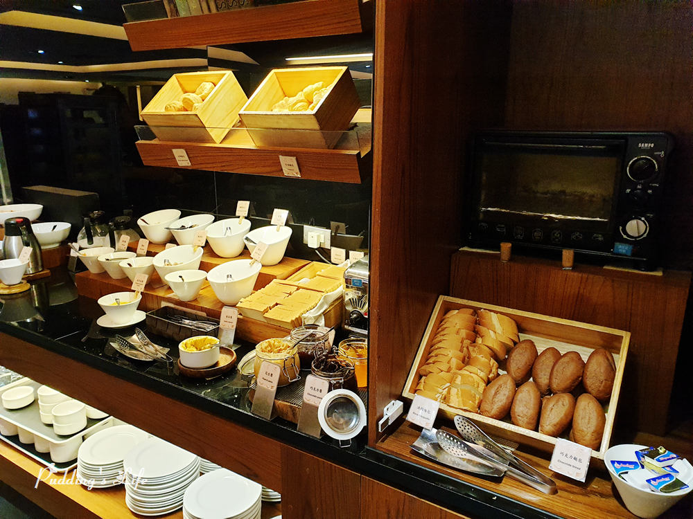 高雄捷絲旅-餐廳烤麵包
