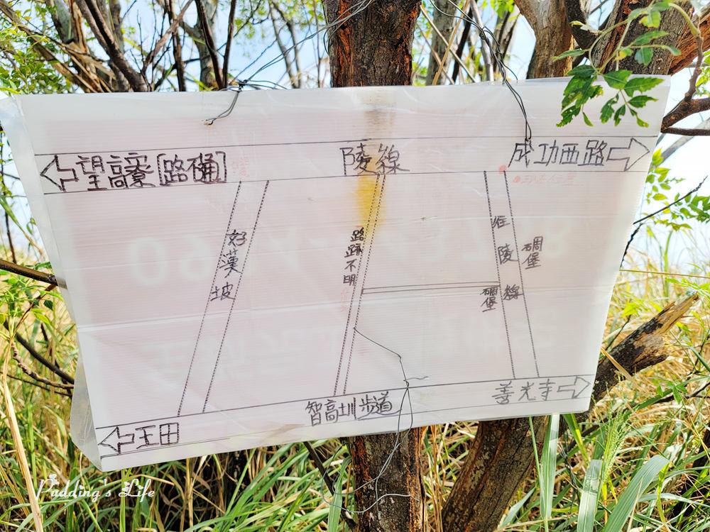 知高圳步道-地圖指引