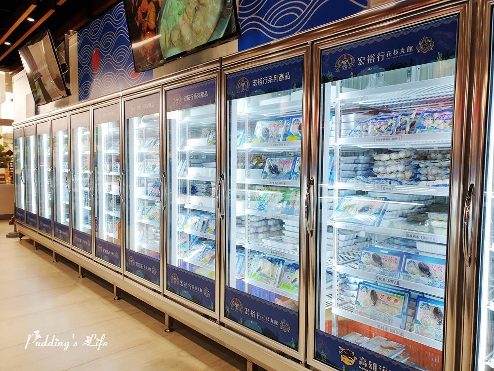 宏裕行花枝丸館-冷凍櫃