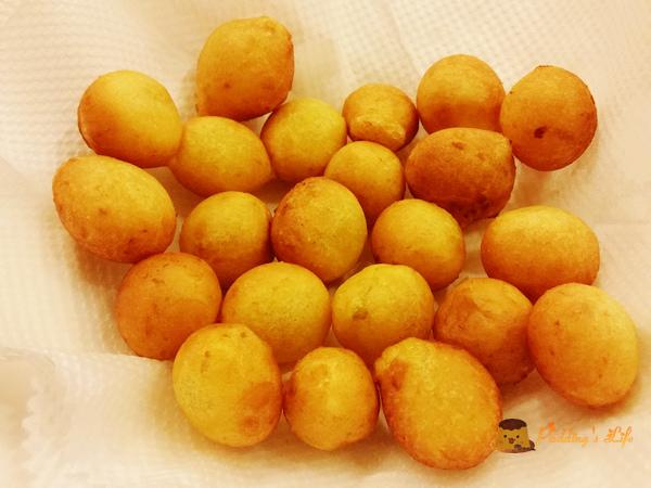 【食譜 做法】夜市美食小吃在家做《地瓜球》炸脆皮QQ蛋