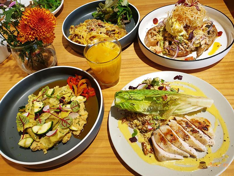 新竹竹北美食│二十四分之一》充滿料理熱情的早午餐/現烤出爐手作麵包