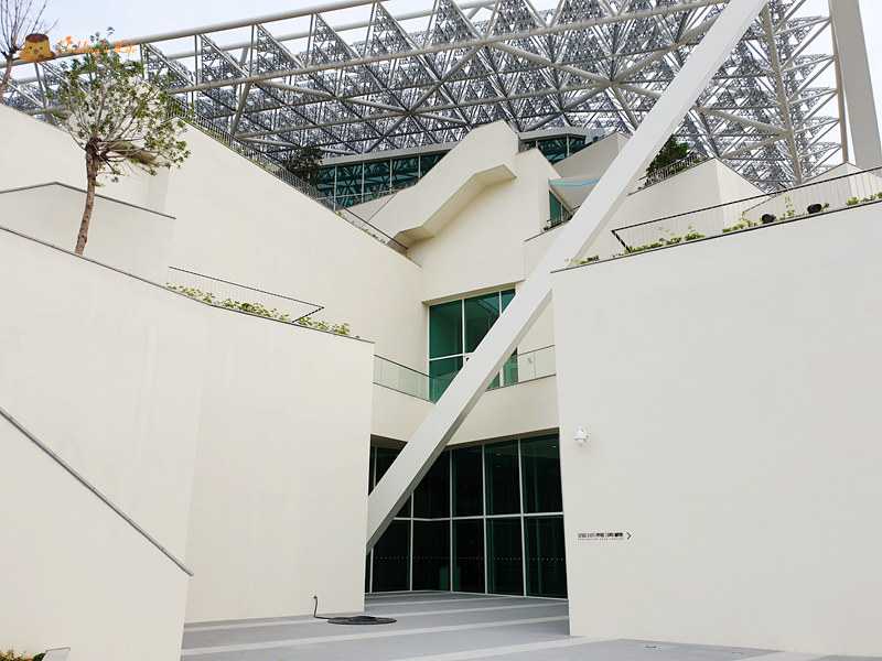 台南新景點》台南市美術館二館│純白建築超美超好拍