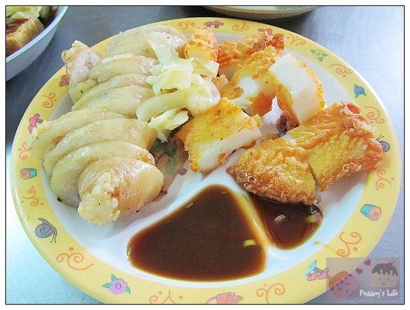 【食記-高雄】左營城隍廟旁眷村美味記憶《舊城傳統美食》炸粿+大碗滿意豬血湯
