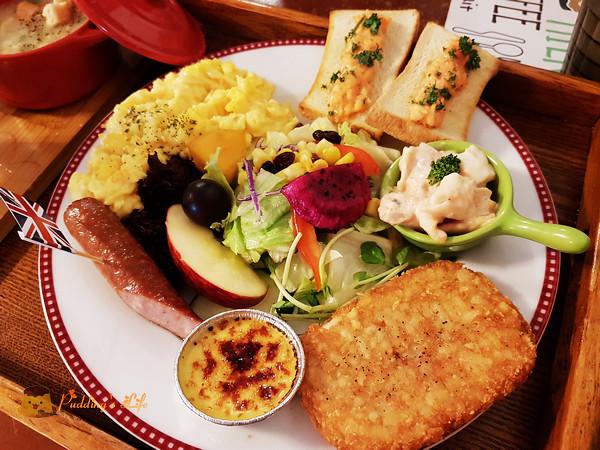 【台南親子餐廳】永康早午餐店《Micasa Recipe 溫馨小窩》室內決明子沙坑兒童遊戲區