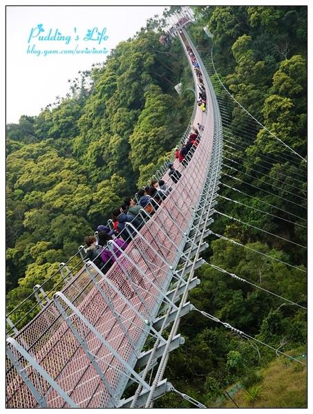 【遊記-南投】南投市猴探井風景遊憩區《天空之橋》全台最長梯子吊橋