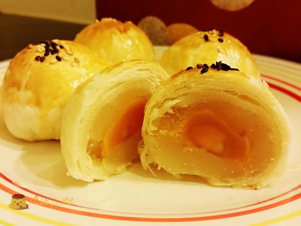 【食譜 做法】手工中式月餅系列《蛋黃酥》圖解製作方法零失敗