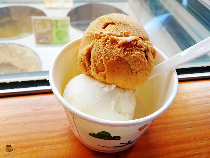 【台東美食】高台上的老屋冰品店《美濃冰品》獨特在地食材冰淇淋/冰棒