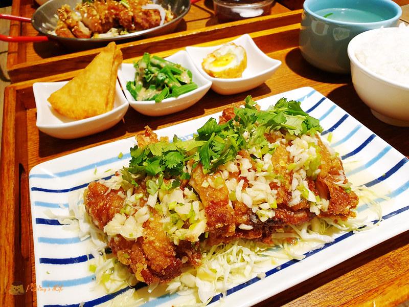 新竹竹北美食│505 Thai 泰式定食》一人獨享的泰國菜簡餐店