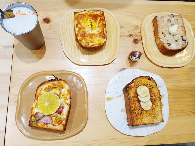 台東早午餐》人x人吐司│巷弄老房子的貝果.土司.早餐店