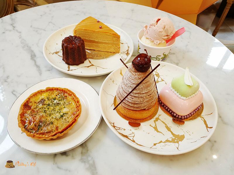台南甜點店│名坂奇洋菓子》台南人氣伴手禮盒.夏威夷豆塔.義式冰淇淋.法式甜點